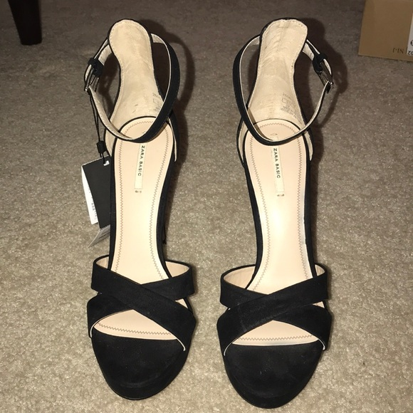 18702f1d71f Zara Basic Black High Heels